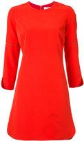 Partow - round-hem shift dress - women - Silk/Polyester/Spandex/Elastane - 4