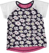 Design History Daisy All over Top (Toddler/Kid) - Catalina Blue-2T