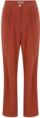Kith & Kin Reddish Brown Basic Pants