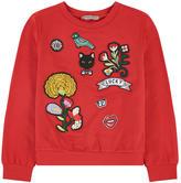 Ermanno Scervino Sweatshirt with patches