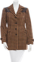 Moschino Wool Houndstooth Jacket