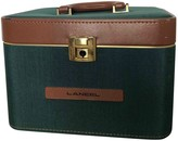 Lancel Green Cloth Travel bags