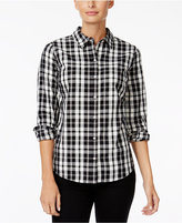 Charter Club Plaid Shirt, Only at Macy's