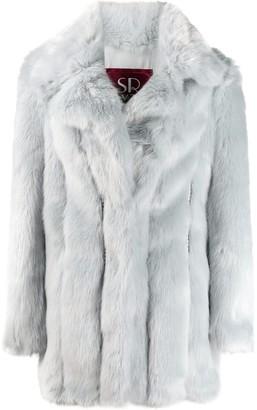 Srvz Club Oversized Faux Fur Coat