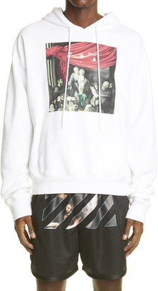 Off-White Caravaggio Painting Graphic Hoodie