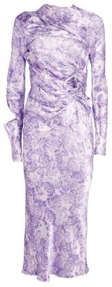 Ganni Floral Midi Dress