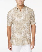 Tasso Elba Men's Linen Short-Sleeve Shirt, Only at Macy's