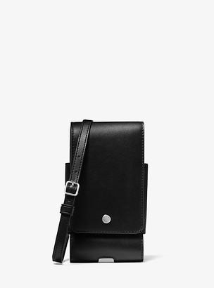 Michael Kors Smartphone Crossbody Bag - Black