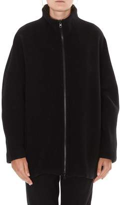 Gianluca Capannolo Stand Up Collar Zipped Jacket