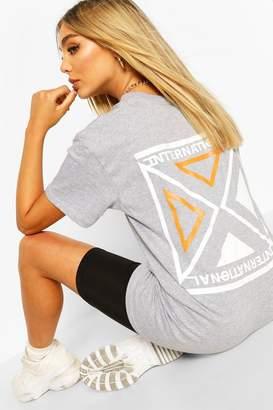 boohoo International Print T-Shirt