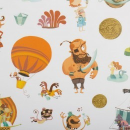 Djeco 160 Pirate Stickers