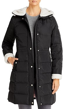 Kate Spade Faux Fur Lined Hooded Parka