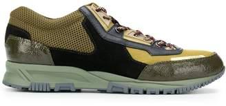 Lanvin Mesh Cross-sneakers