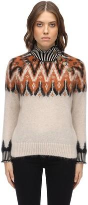 Coach Mohair Blend Knit Sweater