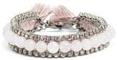 Ettika Women's Rhinestone & Bead Bracelet