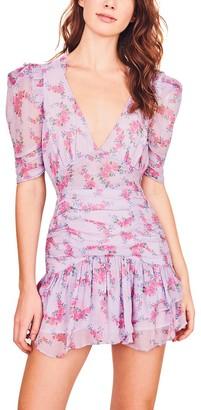 LoveShackFancy Arlo Silk Dress