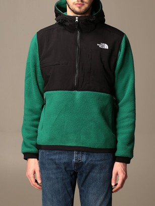 The North Face Sweatshirt The Not Face Sweatshirt In Fleece And Nylon With Hood And Logo