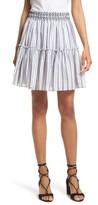 Kate Spade Women's Stripe Miniskirt