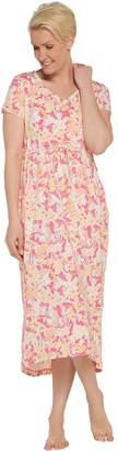 Stan Herman Petite Spring Bloom Hi-Low Dress