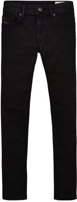 Diesel Boys Sleenker Skinny Jeans - Black