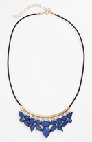 Stephan & Co 'Crest' Multi Stone Necklace (Juniors) (Online Only)