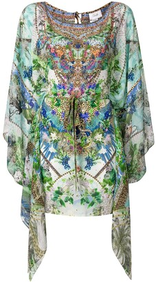 Camilla Moon Garden kaftan dress