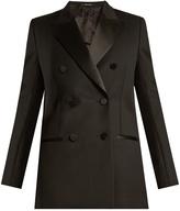 Maison Margiela Peak-lapel double-breasted wool jacket