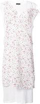 R 13 rose print dress