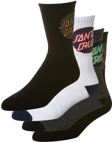 Santa Cruz Cruz Pop Sock 4 Pack