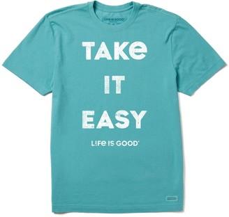 Life is Good Men's Take It Easy Crusher Tee