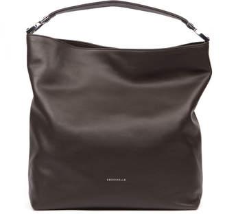 Coccinelle Keyla Dark Brown Leather Bag