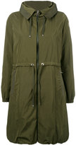 Moncler Tuile overcoat - women - Polyester/Polyimide - 1