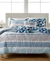 Jessica Sanders Closeout! Parksdale Reversible 4-Pc. Twin Comforter Set Bedding