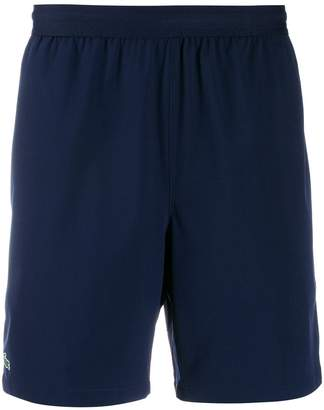 Lacoste contrast piping shorts