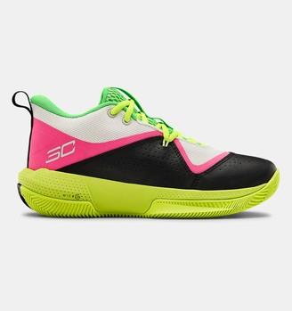 Under Armour Grade School UA SC 3ZER0 IV Basketball Shoes