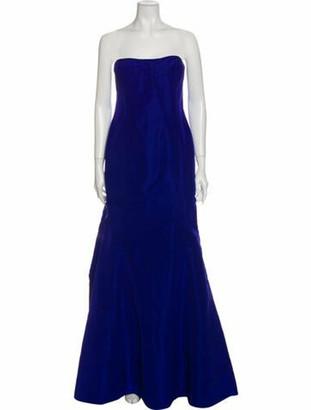 Oscar de la Renta 2017 Long Dress w/ Tags Blue