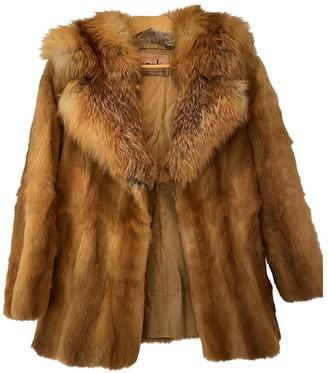 Harrods Camel Fox Coats