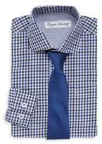 English Laundry Little Boy's Small Checkered Dress Shirt