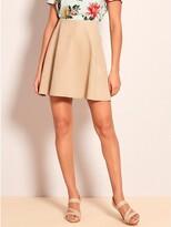 Thumbnail for your product : M&Co VILA suedette skater skirt