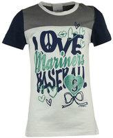 5th & Ocean Girls' Seattle Mariners Love Baseball T-Shirt