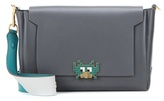 Anya Hindmarch Space Invaders Bathurst Leather Shoulder Bag