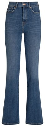 7 For All Mankind Lisha Flare Jeans