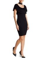 Blvd Off-the-Shoulder Choker Dress
