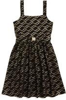 Us Angels Girls' Knit Print Dress