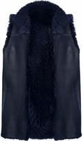 Karl Donoghue Pillow Shearling Vest