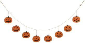 Glitzhome 6' L Halloween Metal Pumpkins Garland