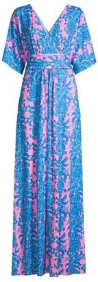 Lilly Pulitzer Parigi Printed Maxi Dress