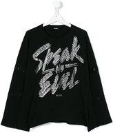 Diesel teen speak no evil T-shirt - kids - Cotton - 14 yrs