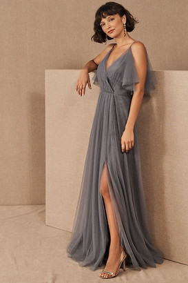 Jenny Yoo Aeryn Dress By in Grey Size 0