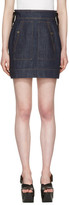 Kenzo Blue Denim Miniskirt